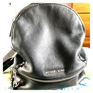 Michael Kors leather small backpack/purse